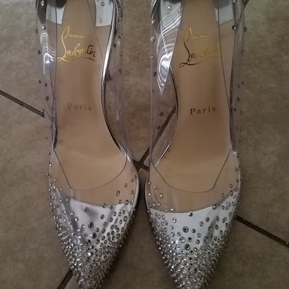 huge discount 3984b 7cf59 Christian Louboutin - Follies strass Pointy toe